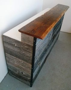 diy reception desk plans - Google Search