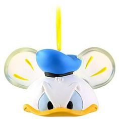 Limited Edition Ear Hat Donald Duck Ornament