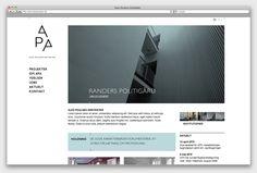 Alex Poulsen Architects by re-public , via Behance