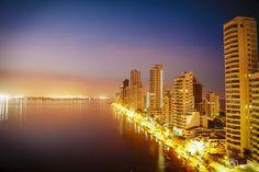 Amaneceres de Cartagena. San Francisco Skyline, New York Skyline, Travel, Sunrises, Cartagena, Countries, Colombia, Viajes, Trips