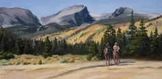 Joy Ride Wood Print by Mary Giacomini Paintings For Sale, Original Paintings, Original Art, Joy Ride, Birthday Invitation Templates, Rocky Mountain National Park, Autumn Art, Rocky Mountains, Fine Art America