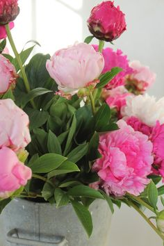 Peonies...sweetest flower ever!