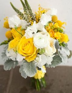 wedding bouquet flowers, yellow wedding bouquet, bridal bouquet, add pic source on comment and we will update it. www.myfloweraffair.com