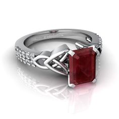 Ruby ring. Would look awesome in a bar setting.