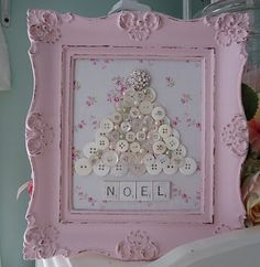 Shabby Chicks. . .happy little things: Pink Christmas 2012