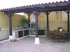 Pergola Attached To House Roof Pergola On The Roof, Patio Pergola, Pergola Attached To House, Patio Roof, Gazebo, Backyard, Barbecue, Pergola Designs, Pergola Ideas
