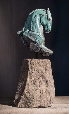 "Stephanie Revennaugh - ""Olympia"", 24x9x4, Bronze"