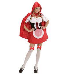 f601b994 #Damekostymer - Rødhette - Kostyme for Damer. Rødhettekostyme med alt du  trenger for å