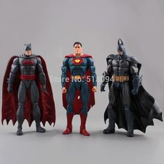 "$48.99 (Buy here: https://alitems.com/g/1e8d114494ebda23ff8b16525dc3e8/?i=5&ulp=https%3A%2F%2Fwww.aliexpress.com%2Fitem%2F7%2F32695916651.html ) 7"" DC Superheroes Batman Superman PVC Action Figure Collectible Model Toy 3pcs/lot Free Shipping HRFG248 for just $48.99"