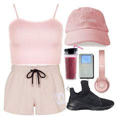 """Untitled #121"" by monochramatic ❤ liked on Polyvore featuring WearAll, Topshop, Puma and Beats by Dr. Dre"