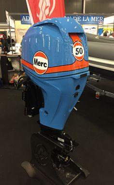 Custom Mercury 50 Outboard