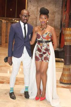 """Zimbabwean Entertainment Duo, Gilmore Tee and Mbo Mahocs, are gradually becoming fashion """"inspiration-posts"""". You need ideas for that occasion? See their photos"""