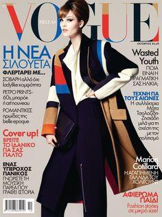Julija Steponaviciute by Costas Avgoulis for Vogue Hellas October 2012!
