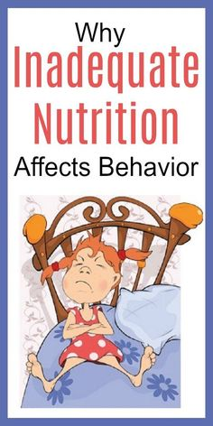Inadequate Nutrition for Children Leads to Behavioral Issues