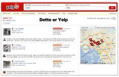 Anbefalinger på #Yelp rangerer på #google og øker verdien på ditt lokale søk.