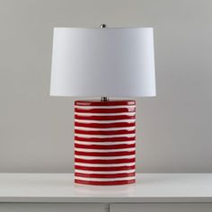 Coastline Table Lamp (Red)  | LandOfNod