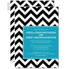 Along These Lines Wedding Invitations