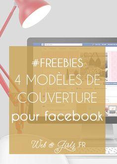#Freebies - 4 modèles de couvertures pour pages #Facebook