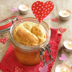 Individual cakes in a jar for #ValentinesDay2014   Check out our blog post on how to bake a cake in a jar for your special someone.  http://pacificmerchants.wordpress.com/2013/10/11/kilner-cake-in-a-jar/