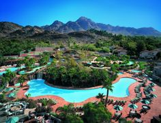 The Pointe at Squaw Peak in Phoenix, Arizona | Working Mother Vacation Resorts, Hotels And Resorts, Park Resorts, Best Vacations, Kid Pool, Best Family Resorts, Resorts For Kids, Hotels For Kids, Best Resorts