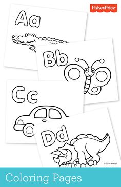 110 Best Coloring Pages Printables For Kids Images Fisher Price