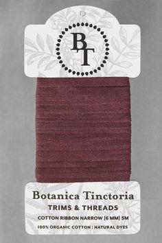 Ribbons ~ Botanica Tinctoria
