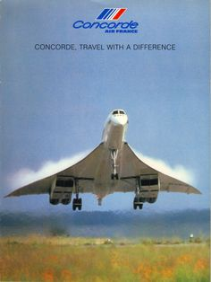 Concorde - Air France Brochure