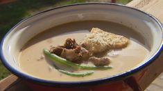 Palóc gulyás Hummus, Oatmeal, Beef, Chicken, Breakfast, Ethnic Recipes, Food, The Oatmeal, Meat