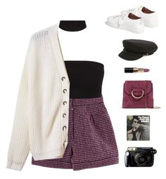 """Untitled #1051"" by greciapaola ❤ liked on Polyvore featuring Nina Ricci, Topshop, Brixton, Bobbi Brown Cosmetics, Little Liffner, Fujifilm, polyvorecommunity, polyvorefashion and polyvoreset"