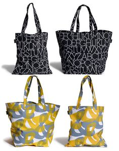 Typography Totes