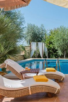 Greece Travel Inspiration - Eleon Residence in Stavromenos, Rethymno, Crete Greece Vacation, Greece Travel, Rethymno Crete, Hidden House, Crete Island, Crete Greece, Storage Places, Pool Houses, Bars For Home