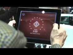 Volvo Augmented Reality X-Ray iPad App  Para el Salón del Automóvil de Ginebra, Volvo creo una aplicación en realidad aumentada de rayos X para su automóvil Volvo V40, con la que los usuarios podrían tener una vista a 360º del interior del vehículo así como aprender más de la tecnología con la que está dotado el mismo.