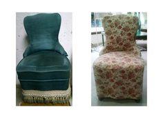 Antes y después de butaquita descalzadora