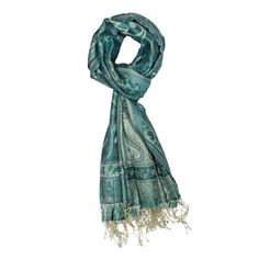 Dress yourself in this luxurious Jamavar Silk Scarf. This scarf is crafted from soft, lightweight weave to create intrinsic designs on 100% superfine silk. The patterns are so finely done that the front and the back of the scarves are indistinguishable. Wear it in different styles for avant-gardelooks.         Your scarf will be delivered in a stylish hand made box with a magnet closure. This reusable box is the perfect travel companion to protect your scarf when traveling.  Woven Silk…