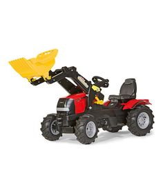 Take a look at this Farmtrac Air Tire & Front Loader Puma Ride-On by Kettler International on #zulily today!