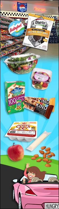 HG's top #lowcal convenience-store #snacks! #HGSurvivalGuide