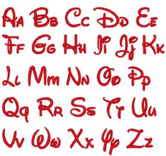18 Disney Letters Font Images - Disney Letter Font Embroidery, Walt Disney Embroidery Font and Disney Font Alphabet Letter Printables Free Printable Letter Stencils, Printable Alphabet Letters, Alphabet Templates, Calligraphy Alphabet, Sewing Machine Embroidery, Embroidery Fonts, Embroidery Designs, Mickey Mouse Font, Disney Mickey