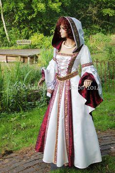 Mittelalter - Mittelalter*Braut*Kleidung*Hochzeit*Gewand*Fantasy - ein Designerstück von mittelalter-fashion bei DaWanda