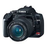 Canon Digital Rebel XTi 10.1MP Digital SLR Camera with EF-S 18-55mm f/3.5-5.6 Lens (Black) (Electronics)By Canon