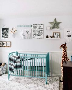 Inspiration from instagram - @elise_meader - blue, black and white, boys room ideas, grey, black and white boys room, Scandinavian style, monochrome design kids room ideas, nursery