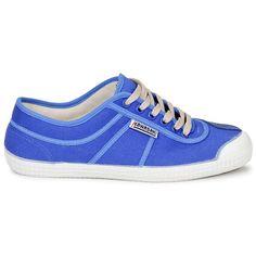 Baskets Kawasaki NEW BASIC Bleu - Livraison Gratuite avec Spartoo.com ! - Chaussures 58,99 €