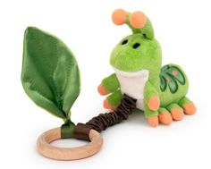 Apple Park Critter Teething Toy, Caterpillar