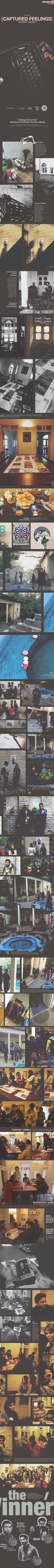 | Captured Feelings | Behance Portfolio Review Tehran on Behance
