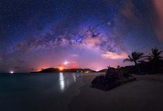 Milky Way Over Puerto Rico By Jesse Summers