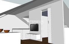 Ontwerp van een zolder verdieping   Interieur design by nicole & fleur