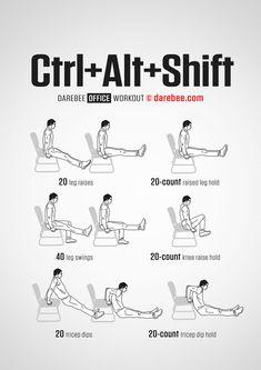 Ctrl + Alt + Shift workout.