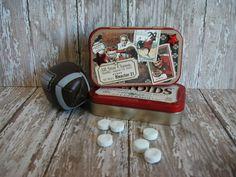 Altered Altoids® Tin Mini Scrapbook/Photograph by MyGreenButterfly
