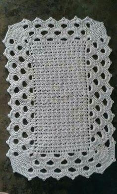 Tapetes em crochet