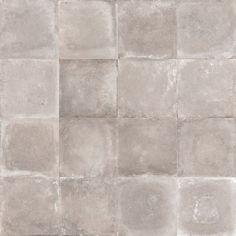Carrelage sol et mur taupe effet béton Harlem l.60 x L.60 cm Murs Taupe, Harlem, Tile Floor, Kitchen Design, Flooring, Leroy Merlin, Backstage, Bathroom, Taupe Bathroom