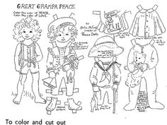 GREAT GRAMPA PEACE by Helen McCook A Large Version